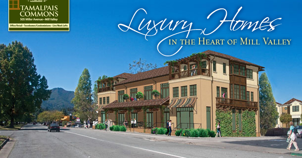 Green Urban Living in the heart of Mill Valley